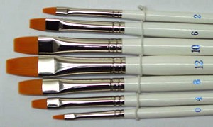 WBN-LS151  Long's Flat Brush Set